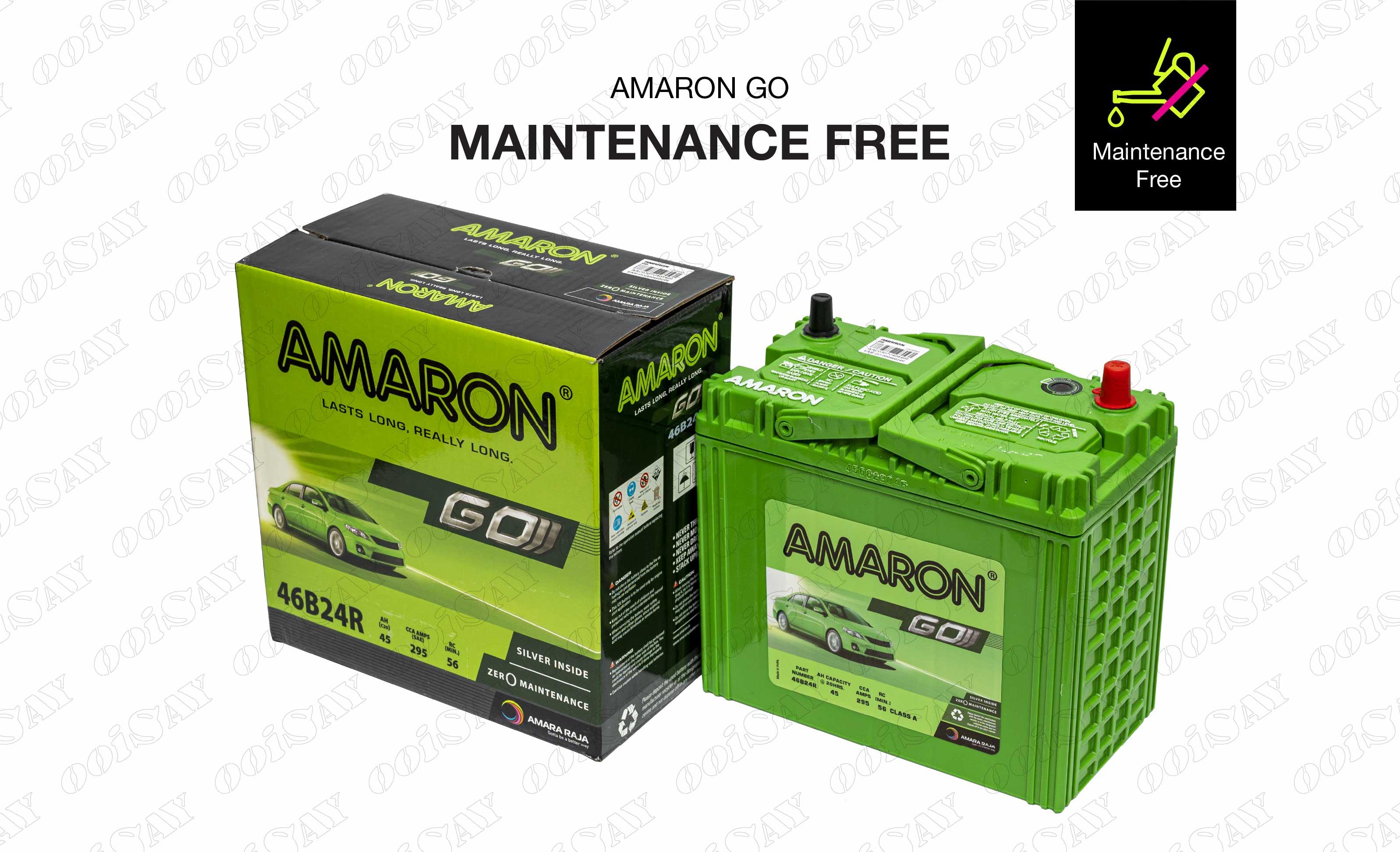Amaron 46B24R Maintenance Free
