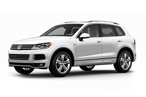 where is the battery on a vw touareg