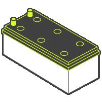 Battery Model - DIN-B